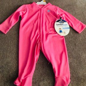 Halo Baby Foot Coverall - PINK